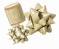 Speckles Gift Bow / Ribbon Spool  (please select colour)
