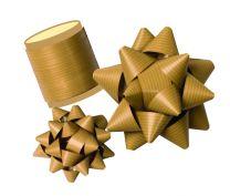 Mock Kraft Effect Gift Bow / Ribbon Spool (select colour)