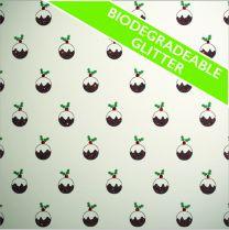 FestivEco Bio Glitter Xmas Pudding