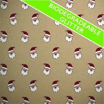 FestivEco Bio Glitter Santa