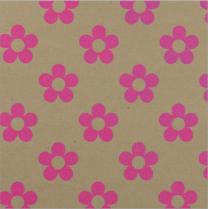 Glitter Fizz Kraft Chunky Daisy Neon Pink