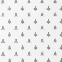 Winter Wonderland Mini Silver Tree on White