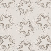 Golden Christmas Dotty Star Sand on Alabaster