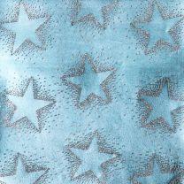 Finlandia Dotty Star Silver on Ice Blue