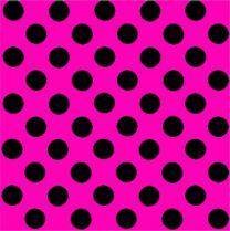 Fun Eco Black Spot on Bright Pink