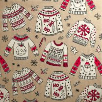 Doodles Christmas Red Jumpers
