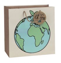 Printed Gift Bag Earthday Planet - Large (Unit of 6)