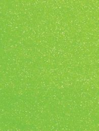 Neon Green Glitter Gift Tag