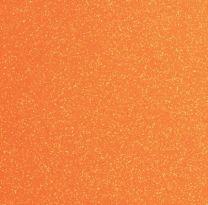 Plain Glitter Neon Orange