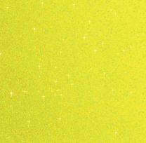 Plain Glitter Neon Yellow