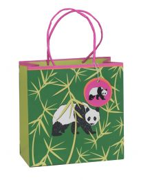 Printed Gift Bag Precious Nature Panda - Medium (Unit of 6)