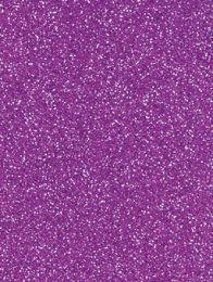 Purple Glitter Gift Tag