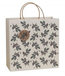 Printed Gift Bag Wild Winter Holly Extra Large (Unit of 6)